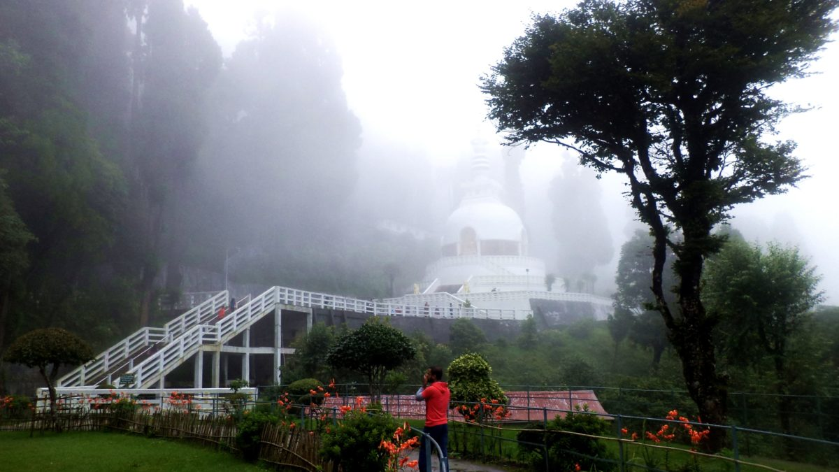 If You Are In Darjeeling, Don't Miss The Japanese Temple And Peace Pagoda