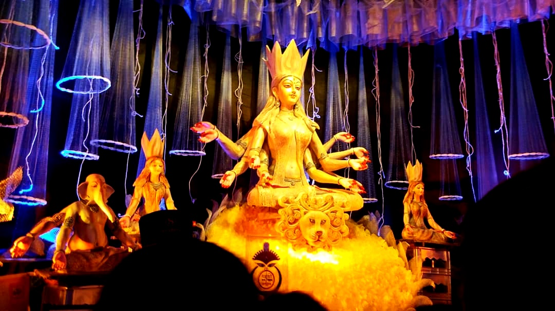 Durga puja now and then
