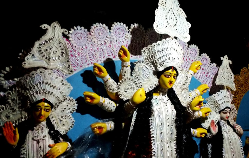 Potters and Durga Puja