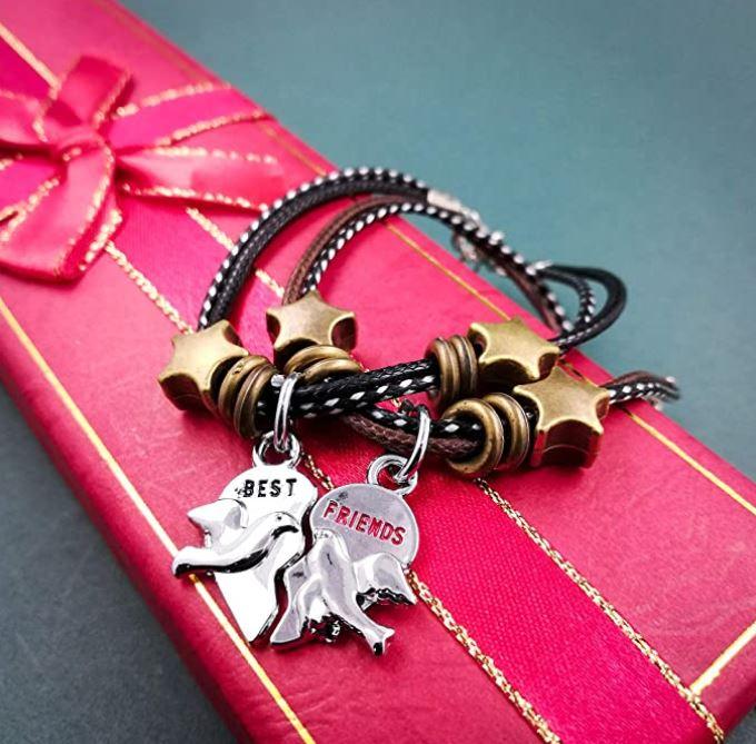 Best Friend Letter Designed Bracelet