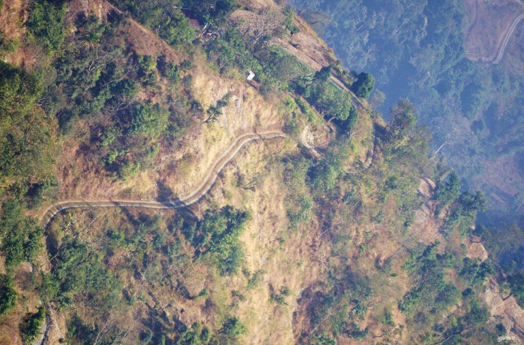 view from panbu dara