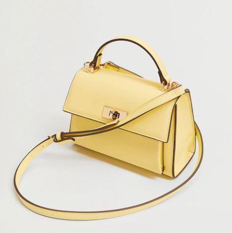 Yellow had bag
